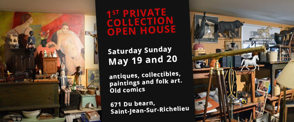 Open house antique collection