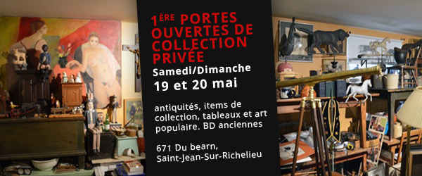 Portes ouvertes collection antiquités