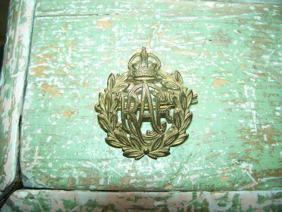 Badge en bronze de la Royal air force 1