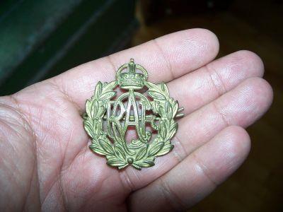 Badge en bronze de la Royal air force 2