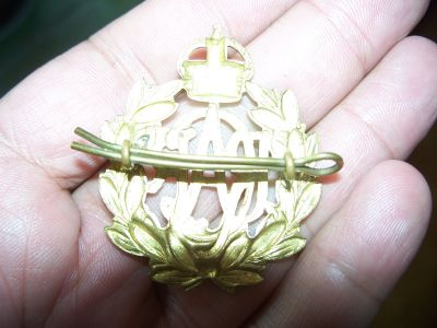 Badge en bronze de la Royal air force 3