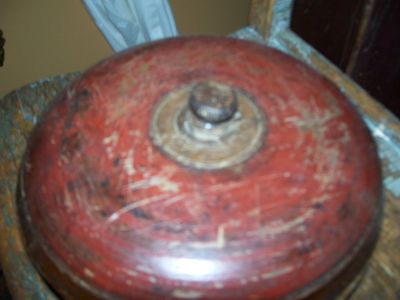 Bol en bois polychrome Amérindien 15