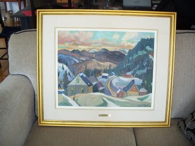 Large oil on canvas from Gilbert Breton 3