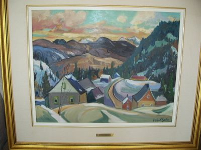 Large oil on canvas from Gilbert Breton 4