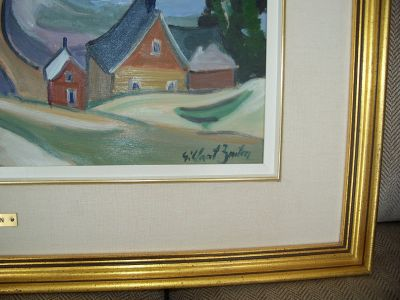 Large oil on canvas from Gilbert Breton 5