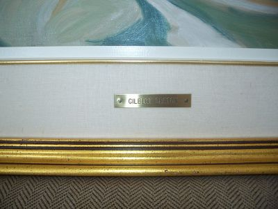 Large oil on canvas from Gilbert Breton 6