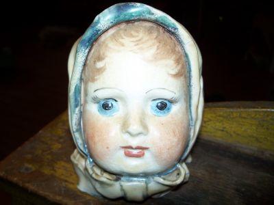 Tête  de poupée en porcelaine 5