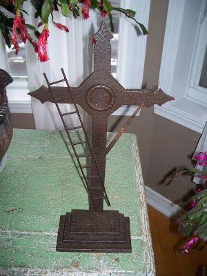 Forged steel cross 1