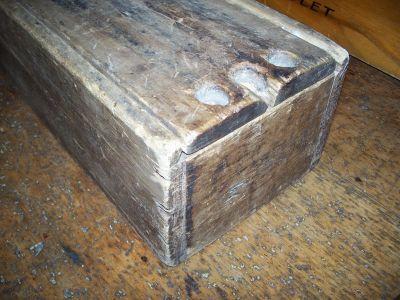 Boîte à chandelles en pin 2