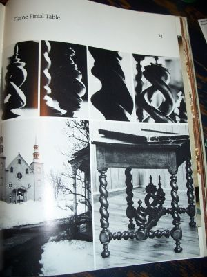 Heritage  a romantic look at Early Canadian Furniture 5