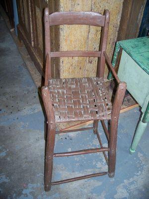 Chaise haute d'enfant 1