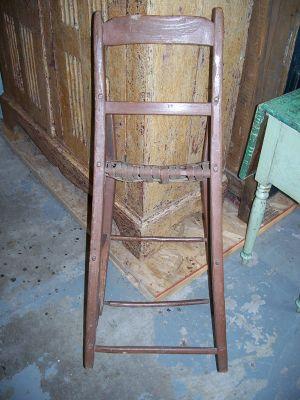Chaise haute d'enfant 4