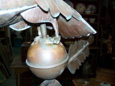 Copper eagle weather vane 4
