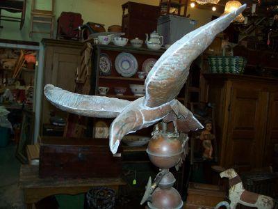 Copper eagle weather vane 3
