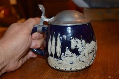 Wedgewood mug with pewter lid 4