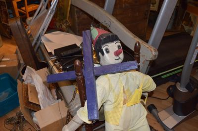Marionnette de Pinocchio en pin  2