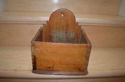 19th C. salt box 1