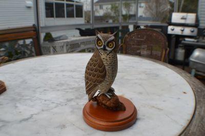 hiboux sculpté 9