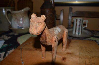 chat sculpté art populaire 2