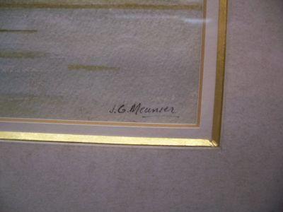 Tableau aquarelle de Jean Guy Meunier 7