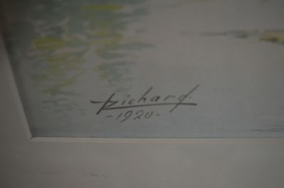 aquarelle de Henri Richard RCA 3