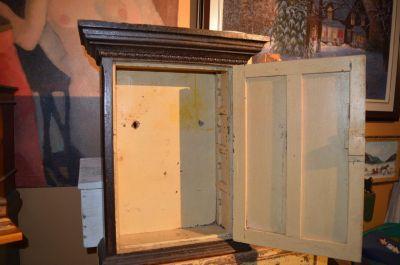 Pine tiny armoire 8