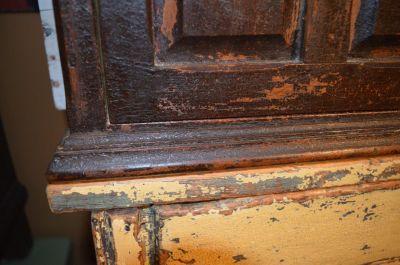 Pine tiny armoire 7