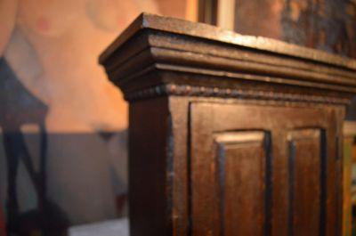 Pine tiny armoire 6