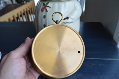 Short & Mason brass nautical barometer 4