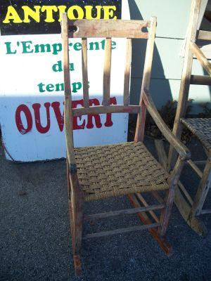 Berçante Luneau ou dîtes de Bellechasse 1