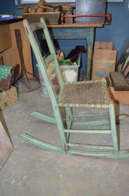 Quebec rocking chair 4