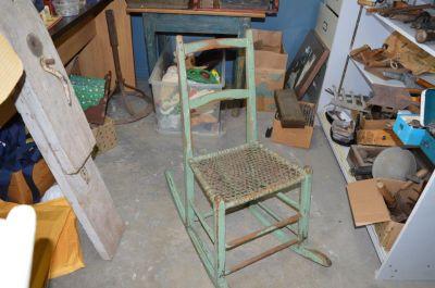 Quebec rocking chair 1