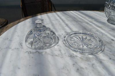 Beurrier en cristal pinwheel 3