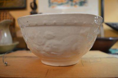 Beaver stoneware bowl 2