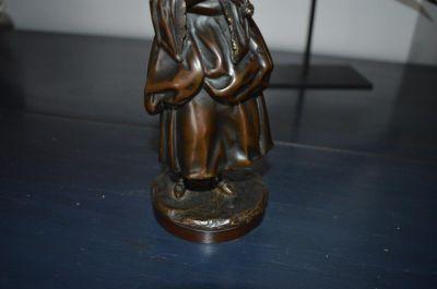 Bronze femme Victorienne 6