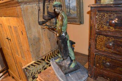 Blacksmith bronze from Emile Louis Picault 6