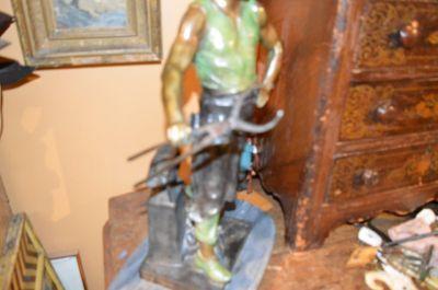 Blacksmith bronze from Emile Louis Picault 3