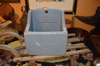 Boîte à sel en pin 8