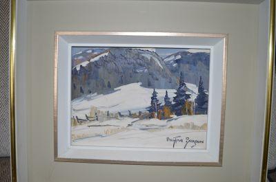 Christian Bergeron huile sur toile 4
