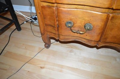 Commode arbalète en pin 2