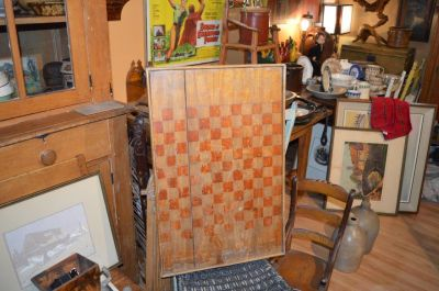 20th C. checker board 1