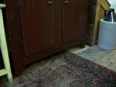 4 doors forged nails pine cupboard 3