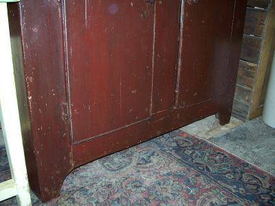 4 doors forged nails pine cupboard 4