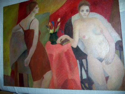 Large oil on canvas from Durand 1963 2