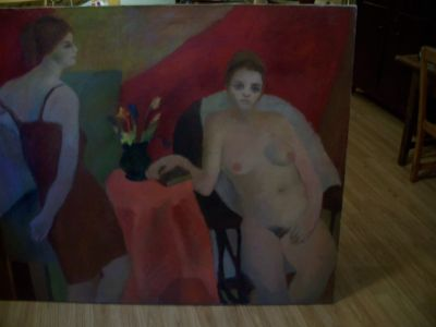 Large oil on canvas from Durand 1963 9
