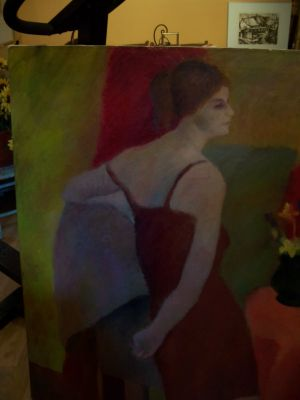 Large oil on canvas from Durand 1963 11