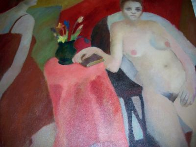 Large oil on canvas from Durand 1963 13