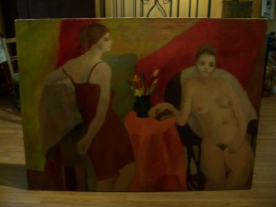 Large oil on canvas from Durand 1963 8