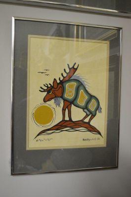 Douglas Akekagumick acrylique sur papier  6