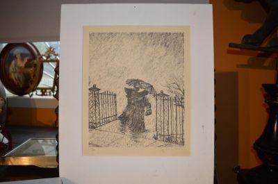 lithographie Yvonne Bolduc 1